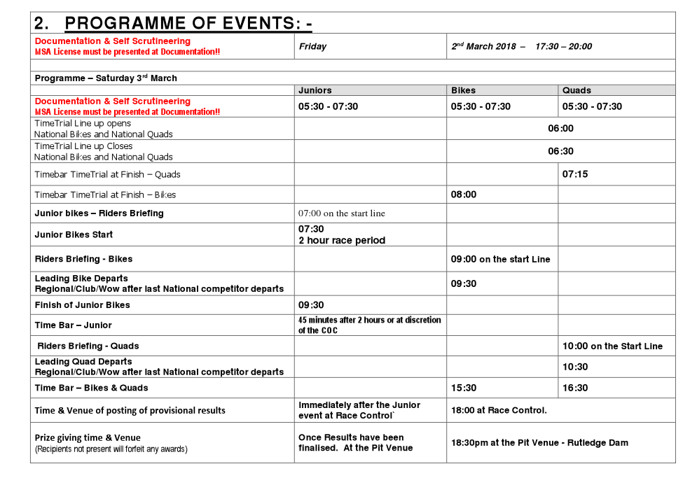 PROGRAMME OF EVENTS_1
